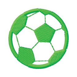 Soccer Ball embroidery design