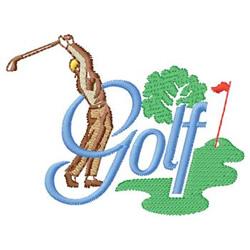 Golf Design embroidery design