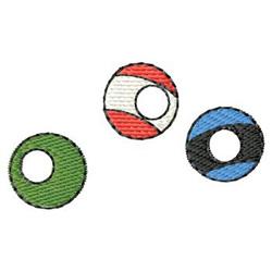 Pool Balls embroidery design
