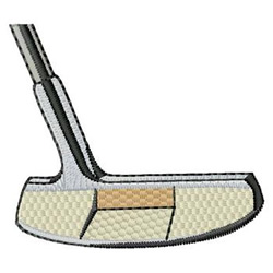 Golf Putter embroidery design