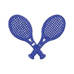 Racketball Racquet embroidery design
