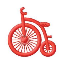 Bike embroidery design