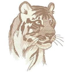 Mountain Lion embroidery design