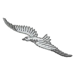 Bird in Flight embroidery design