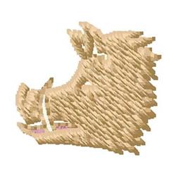 Boar embroidery design