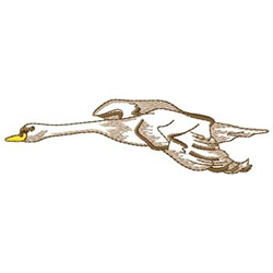 Flying Goose embroidery design
