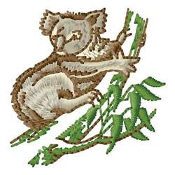 Koala embroidery design