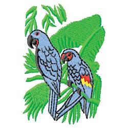 Tropical Birds embroidery design