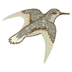 Bird embroidery design