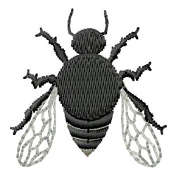 Insect embroidery design