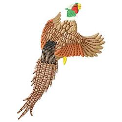 Pheasant embroidery design