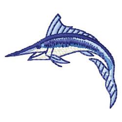 Marlin embroidery design