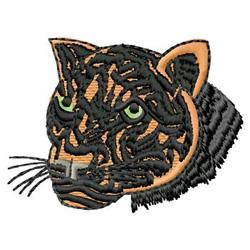 Cat Head embroidery design