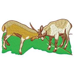 Mountain Goats embroidery design
