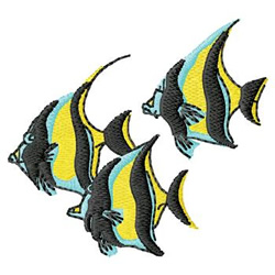 Tropical Fish embroidery design