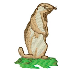 Prairie Dog embroidery design