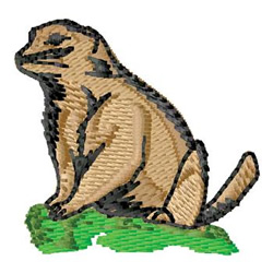 Ground Hog embroidery design