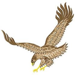 Bird Of Prey embroidery design