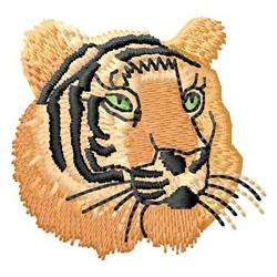 Tiger Head embroidery design