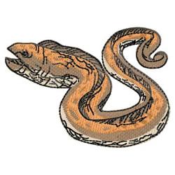 Eel embroidery design