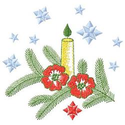 Candle Arrangement embroidery design