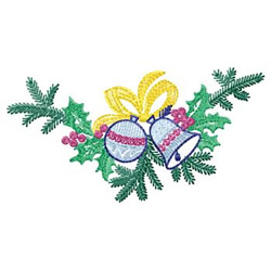 Christmas Spray embroidery design
