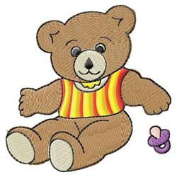 Baby Teddy Bear embroidery design