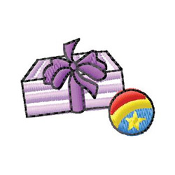 Gifts embroidery design