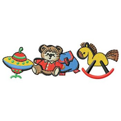 Toys embroidery design