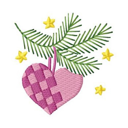 Ornament Branch embroidery design