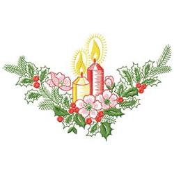 Christmas Centerpiece embroidery design