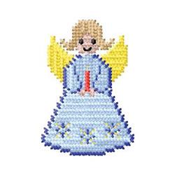Cross Stitch Angel embroidery design