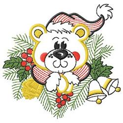 Bear Arrangement embroidery design