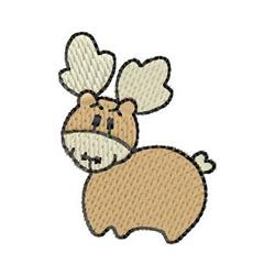 Reindeer embroidery design