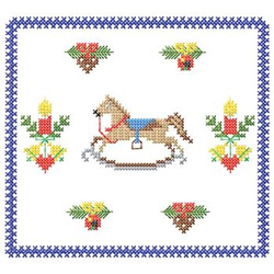 Cross Stitch Christmas embroidery design