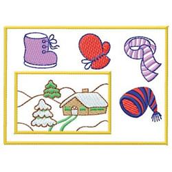 Picture embroidery design