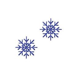 Snowflakes embroidery design