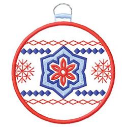 Winter Ornament embroidery design