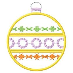 Decorative Ornament embroidery design