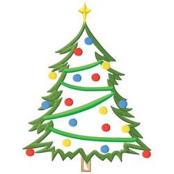 Christmas Tree embroidery design