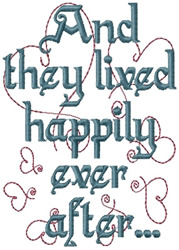 how to embroider letters they lived happily embroidery designs machine embroidery 1301