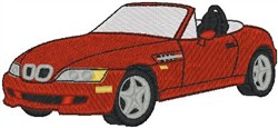 BMW M Roadster Z3 embroidery design