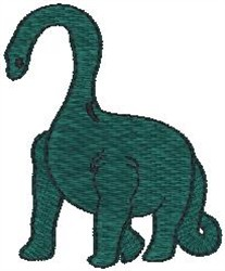 Free Brontosaurus Machine Embroidery Designs