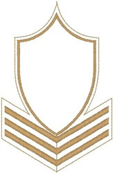 Sargent Stripes embroidery design