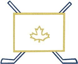 Canada Hockey embroidery design
