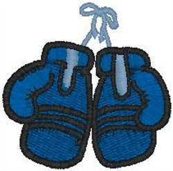 Boxing Gloves40 embroidery design