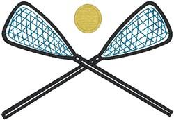 Lacrosse 47 embroidery design