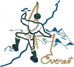 Everest embroidery design