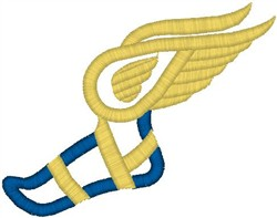 Winged Foot embroidery design