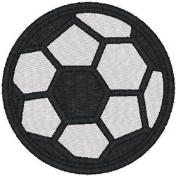 Soccer Ball1 embroidery design